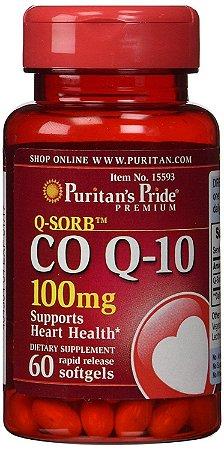 0180569a5 Coenzima Q10 Coq10 60 Cápsulas - 100mg - Puritan s Pride - Primo ...
