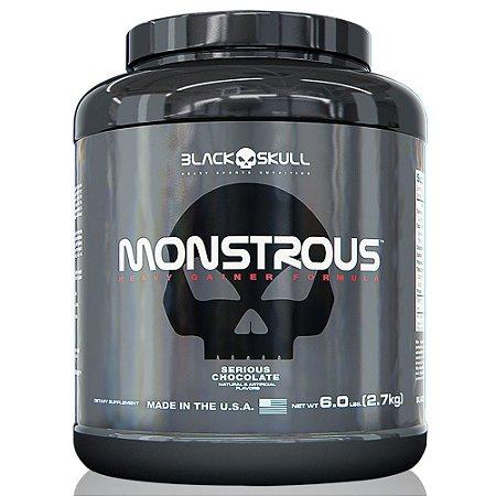Hipercalórico Monstrous Gainer 2,7kg - Black Skull
