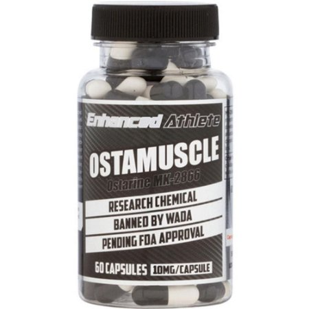 Ostamuscle MK-2866 10mg (Ostarine, Enobosarm) 60 Caps - Enhanced Athlete