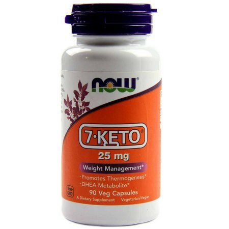 7-Keto 25mg (90 Cápsulas) - Now Foods