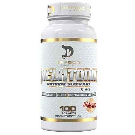 Melatonina 5mg (100 Tabletes) - Dragon Pharma