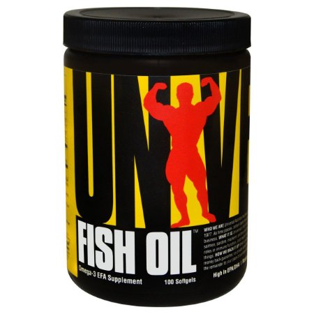 Fish Oil Ômega 3 (100 Cápsulas) - Universal Nutrition