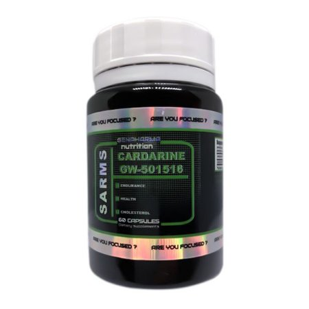 Cardarine 10mg 60 Cápsulas Gen