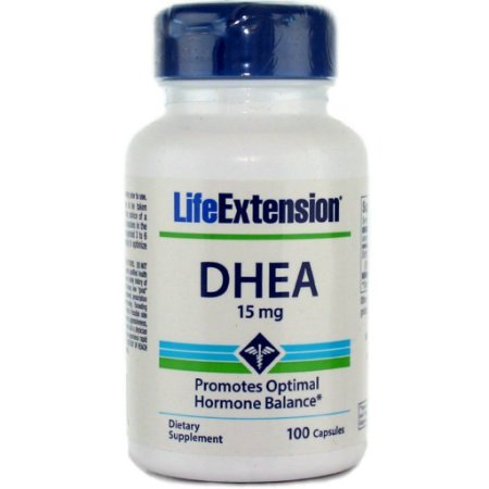 Dhea 15mg 100 Cápsulas - Life Extension