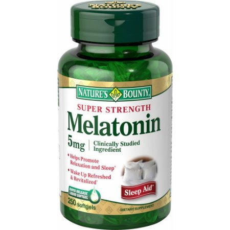 Melatonina 5mg 250 softgels - Natures Bounty
