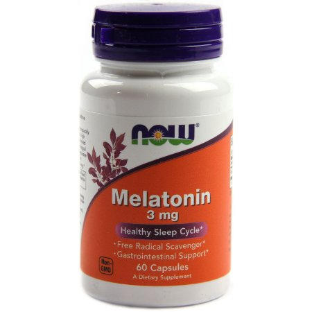 Melatonina 3mg 60 caps Now Foods