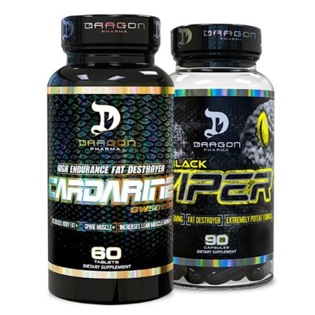Combo Cardarine + Black Viper Dragon Pharma