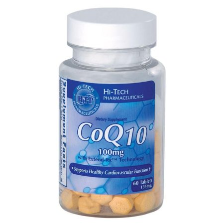 Coenzima Q10 60 Tabletes 100mg Hi-tech