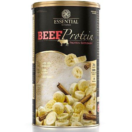 Beef Protein Banana com Canela 420g Essential Nutrition