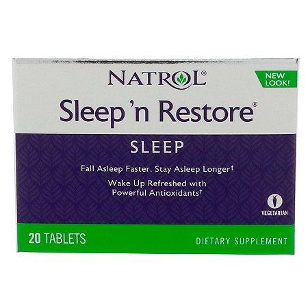 Sleep Restore 20 Tablets Natrol