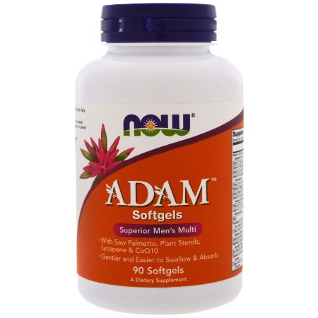 Multivitamínico Adam 90 Softgels Now Foods