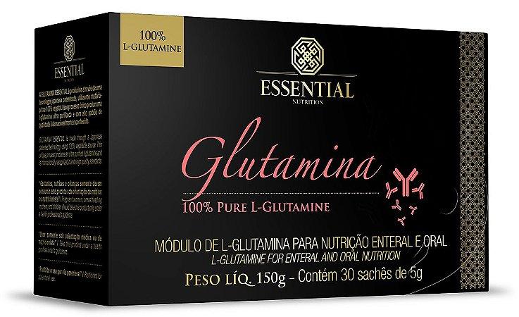 Glutaminha 30 Sachês Essential Nutrition