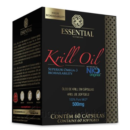Krill Oil 60 Caps Essential Nutrition