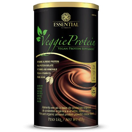 Veggie Protein Chocolate Cacao 455g Essential Nutrition