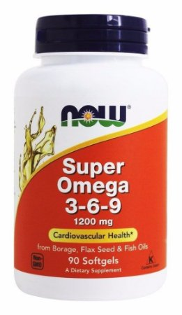 Super Ômega 3-6-9 1200mg 90 caps Now Foods