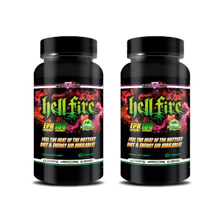 Kit 2 Hell Fire (90 Capsulas) - Innovative