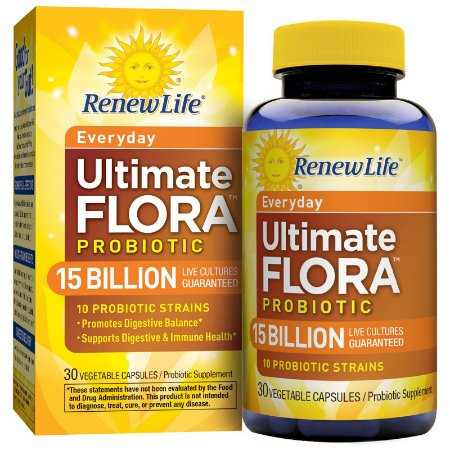 Probiótico Ultimate Flora 15 Bilhões 30 Caps Renew Life