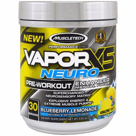 Nano Vapor X5 Neuro 30 doses Muscletech