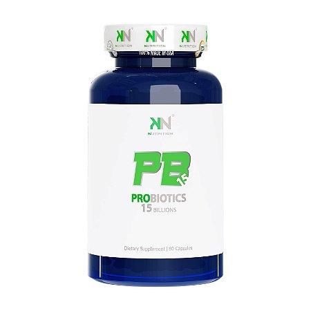PB15 Probiotico 15 Bilhões 60 caps Kn Nutrition