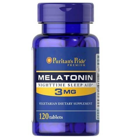 Melatonina 3mg 120 tablets Puritans Pride