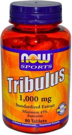 Tribulus Terrestris 1000MG 90 Cápsulas Now Foods
