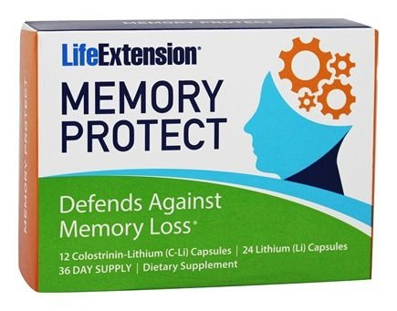 Memory Protect 36 Caps Life Extension