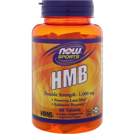 Hmb 1000mg 90 Tabletes Now Foods