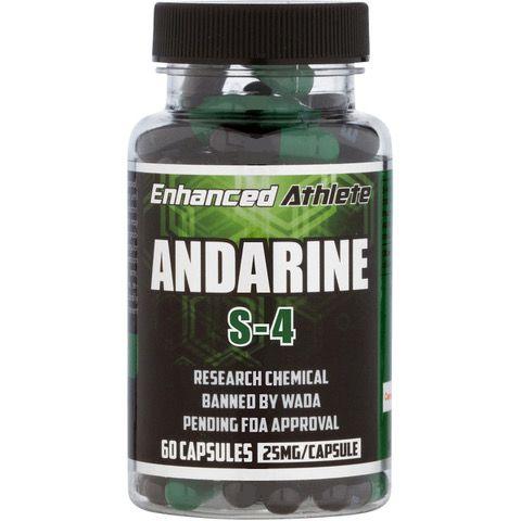 Andarine S-4 25mg 60 Caps Enhanced Athlete