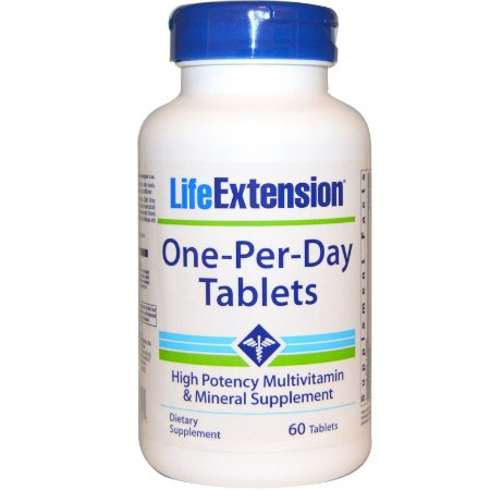 One-Per-Day 60 Tabletes Life Extension
