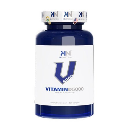 Vitamina D 5000ui 120 Caps Kn Nutrition