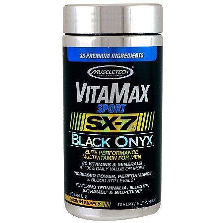 VitaMax Sport Sx-7 Black Onyx 120 Tabs Muscletech