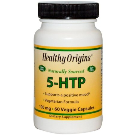 5-Htp 100mg 60 Cápsulas Healthy Origins