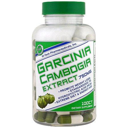 Garcinia Cambogia Extract 750mg 100 Cápsulas Hi-Tech