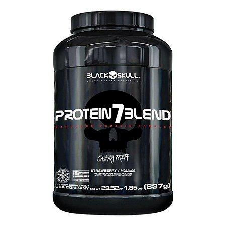 Protein 7 Blend Caveira Preta 837g Black Skull