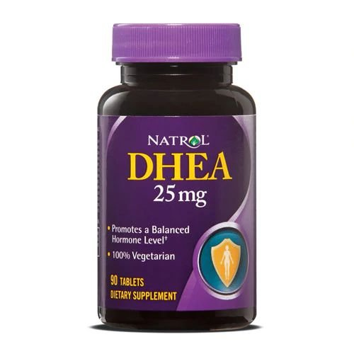 Dhea 25mg 90 Tabletes Natrol