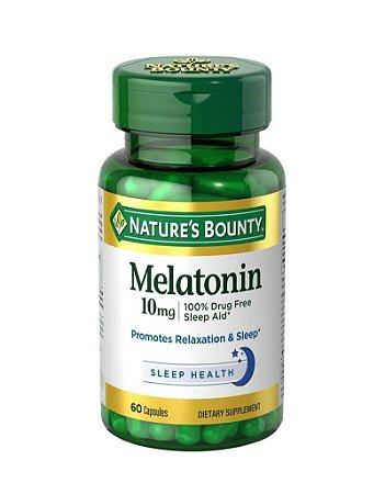 Melatonina 10mg 60 caps Natures Bounty