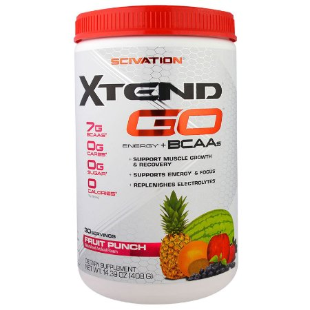 Xtend Go Energia + Bcaa 408g Scivation