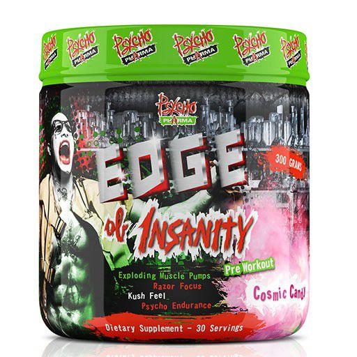 Pré-Treino Edge of Insanity 30 doses Psycho Pharma