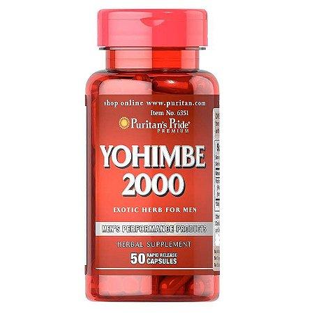 Yohimbe Ioimbina 2000mg 50 Caps