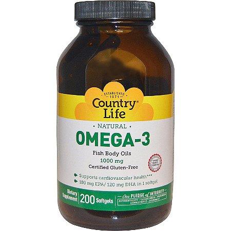Omega-3 1000mg Country Life