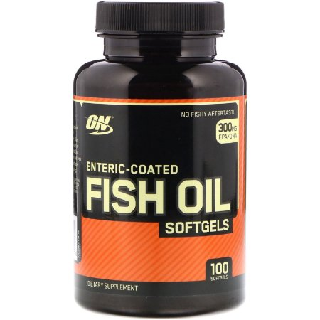 Ômega 3 300mg Fish Oil 100 Cápsulas Optimum Nutrition