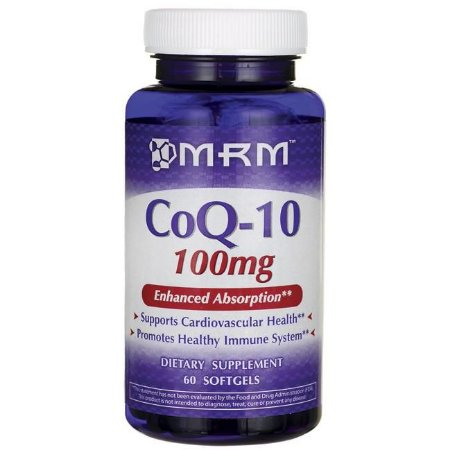 Coq-10 100mg 60 Softgels MRM (Val. 06/2019)