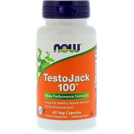 TestoJack 100 60 Veg Caps Now Foods