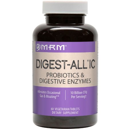 Digest All Probióticos e Enzimas 60 Tabs MRM