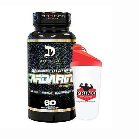 Combo: Cardarine 60 CAP + 1 Coqueteleira - Dragon Pharma