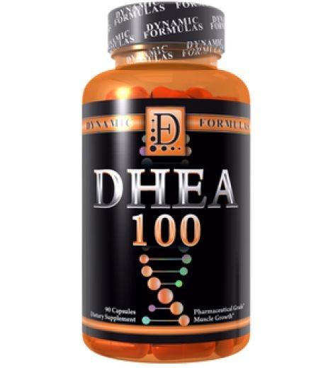 Dhea 100mg (90 Cápsulas) - Dynamic Formulas