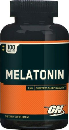Melatonina 3mg 100 Cápsulas Optimum Nutrition