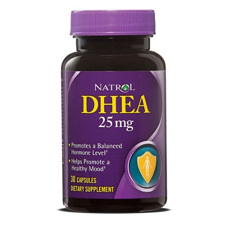Dhea 25 mg (30 Cápsulas) - Natrol