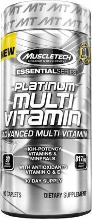 Platinum Multi-Vitamínico (90 caps) - Muscletech