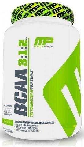 BCAA 3:1:2 240 Cápsulas MusclePharm